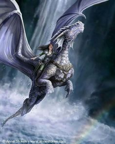 """The dragon and it's rider rarely fought. The elves even have a saying about them. """"Together they go along, singing and humming the Dragon's song."""