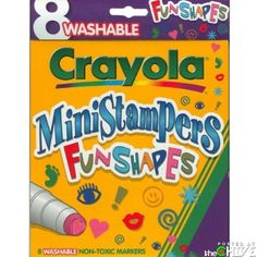 Pretty sure I was obsessed with these and still have them in my marker box hidden under my bed! : )