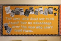 high school english bulletin board