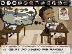 Nelson Mandela als Kind
