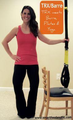 TRX meets barre, pilates, & yoga