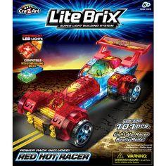 Cra-Z-Art Lite Brix Building System - Space Trooper - CRA-Z-ART ...