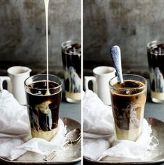 Save this Skinny Caramel Frappe recipe for the perfect summer iced coffee.