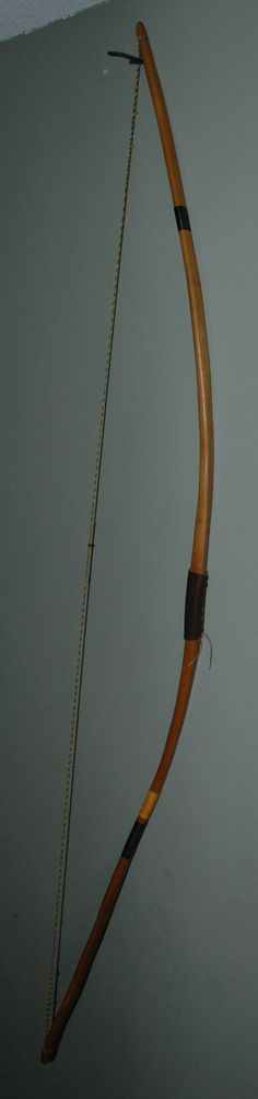Bill Darr osage long bow