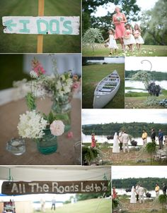 """8 Perfect Outdoor Wedding Trend Ideas 2013 and 2014 """"All the roads led to you"""""""