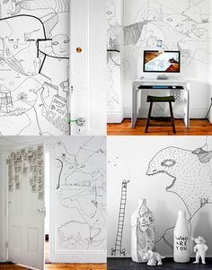 Dessiner sur des murs avec Shantell Martin |