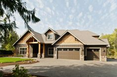 Craftsman Style House Plan - 3 Beds 2.50 Baths 2735 Sq/Ft Plan #48-542 Exterior - Other Elevation - Houseplans.com