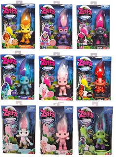 THE Zelfs Series 3 Wave 1 Super Zelfs There 9 TO Choose From | eBay