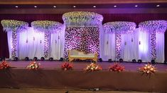 Wedding Stage For Marriage Reception The Effective Pictures We Offer You About wedding decorations arch A quality picture can tell you many things. You can find the most beautiful pictu Wedding Stage Design, Wedding Reception Backdrop, Wedding Entrance, Wedding Mandap, Church Wedding, Wedding Designs, Diy Wedding, Wedding Events, Wedding Ceremony