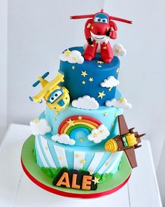 Exceptional Cute cars photos are available on our web pages. Check it out and you wont be sorry you did. Planes Birthday Cake, Dinosaur Birthday Cakes, 2nd Birthday Party Themes, 3rd Birthday Cakes, Boy Birthday Parties, Happy Birthday Boy, Birthday Cake Kids Boys, Cake Wallpaper, Cakes For Boys