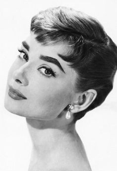 Audrey Hepburn. Pretty and Pink! Don't forget to follow me! xo Emma