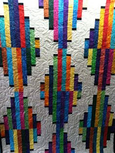 Untitled quilt with quilting by Jessica Jones