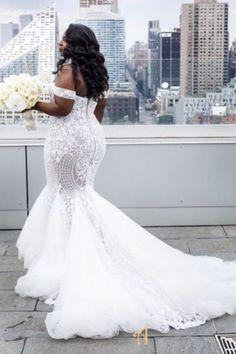 Wedding Dress Outlet, Dresses Elegant, Plus Size Wedding Gowns, Modest Wedding Dresses, Bridal Dresses, Summer Dresses, Lace Mermaid Wedding Dress, Mermaid Dresses, Tulle Wedding