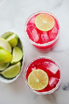 Zesty Blood Orange Margaritas.