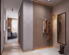 modern interior corridor - Home And Garden Home Interior Design, Modern Interior, Interior Architecture, Interior Decorating, Flur Design, Wall Design, House Design, Hallway Designs, Entry Hallway