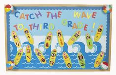 Waves of Fun Bulletin Board.