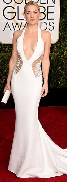 Kate Hudson in Atelier Versace at the 72nd Annual Golden Globe Awards