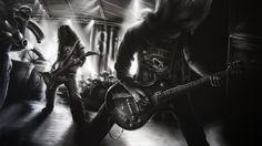 Resultado de imagem para heavy metal wallpaper