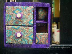 ethinic mini cabinet