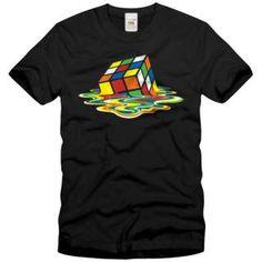 Remera Rubik derritiendose