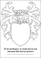 1000 images about coat of arms templates on pinterest for Make your own coat of arms template