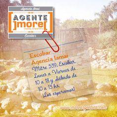¿Enviar y recibir giros en #Escobar? Hacelo en el lugar más confiable con ]more[  Agencia IAMAI ➙ de Lunes a Viernes 10 a 18 y Sábados de 10 a 13 hs
