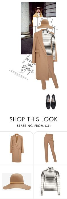 """Untitled #1283"" by talita-roberto ❤ liked on Polyvore featuring STELLA McCARTNEY, Hermès, rag & bone, Topshop, H&M and Zara"