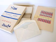 Vintage Airmail Stationary