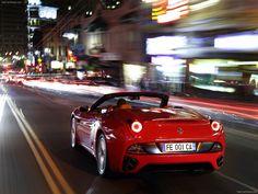 Ferrari California at Night