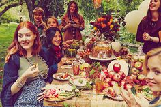 Blake Lively Documents Perfect Autumnal-Themed Baby Shower For Preserve #refinery29  http://www.refinery29.com/2014/10/76072/blake-lively-baby-shower-photo#slide3