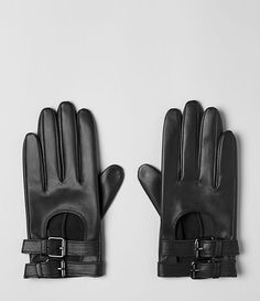 Womens Vivienne Gloves (Black)//