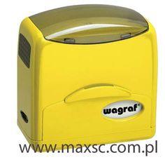 Automat Wagraf Polan 3 - dzięki wygodnemu zamknięciu doskonale łączy funckcje pieczątki mobilnej i automatu . Mały , fukcjonalny i bezpieczny w transporcie- nic nie ubrudzi się tuszem.