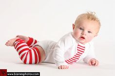 Adorable boys candy cane tie and matching leg warmers from Fit For A Princess.     www.ffaprincess.com