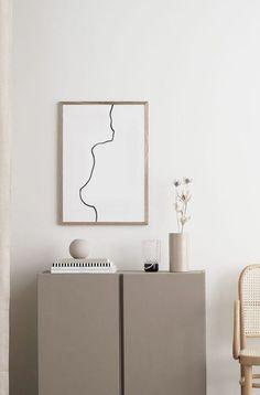 Living Room Decor, Bedroom Decor, Minimalist Room, Scandinavian Interior, Scandinavian Bathroom, Creative Walls, Modern Wall Decor, Inspired Homes, Printable Wall Art