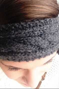 To crochet a head band ear warmer with flower youtube crochet