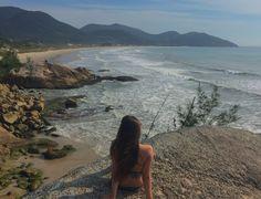 Beach  Garopaba Brasil