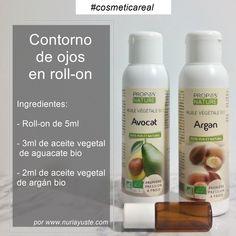 Contorno de ojos en roll-on de Argán & Aguacate.