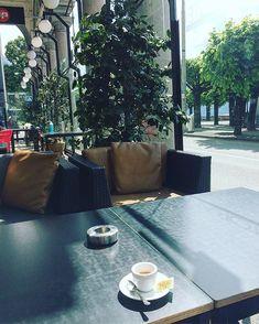 "mb68 su Instagram: ""#caffepascucci #stoplockdown #lugano #sundaymorning #luganolake #longlake #cofee #cofeetime #ticino #svizzera #caffè #suisse #switzerland…"" Lugano, Long Lake, Coffee Time, Patio, Instagram, Outdoor Decor, Home Decor, Decoration Home, Terrace"