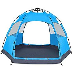 BATTOP 4 Person Tent for Camping Double Layer Family Camping Tent for 4 Seasons Waterproof with Instant Setup * You can get more details by clicking on the image. (This is an affiliate link) Backpacking Tent, Camping Survival, Tent Camping, Camping Gear, Tent Set Up, Pop Up Tent, Family Tent, Family Camping