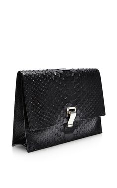 The Lunch Bag Small Python Clutch by Proenza Schouler - Moda Operandi