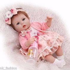 Brinquedo Boneca reborn de bebê menina bonecas de silicone teborn Babies Presente De Aniversário