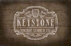 Branding: Keystone Vintage Lumber by Christopher Bianchi, via Behance