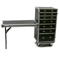 ATA 7 DRAWER UTILITY PRODUCTION PRO ROAD CASE WORKBOX W/ TABLE LID #OSP