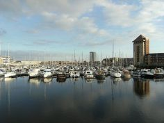 A million development project in Swansea is set to create 250 apprenticeships. Swansea Marina, Swansea Bay, Dylan Thomas, Innovative Companies, Bus Station, South Wales, Family Travel, New York Skyline, Maine