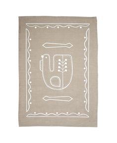 TUULIVIIRI 100 % linen kitchen towel from Aapiste designed by Riikka Kaartilanmaki