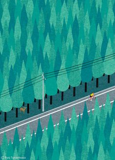 三菱UFJリサーチ&コンサルティングが発行する会報誌『SQUET』2015年5月号の表紙イラストレーションを担当しました。 Cover illustration for Squet magazine, May 2015 issue.