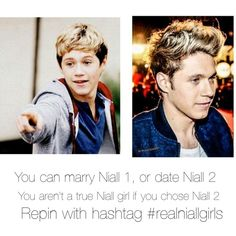 #realniallgirls and you know what? I would just love to be this boys friend. I wanna get to know him. I know he's never gonna love me like that so I would just want to be his friend. Hes adorable in pic 1 and I love him no matter what. I think he looks adorable and some people don't but it's all about their personality to me. Everyone says this but @nenepaguia13 is it not true that my crush isn't the cutest guy? But his personality is just amazing. And I think niall has always been cute<3