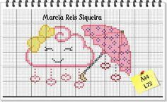 Cross Stitch Letters, Mini Cross Stitch, Cross Stitch Flowers, Cross Stitching, Cross Stitch Embroidery, Giant Paper Flowers, Back Stitch, Beading Patterns, Stitch Patterns