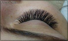 Volume lashes Individual Lashes, Natural Lashes, Volume Lashes, False Lashes, Eyelash Extensions, Eyelashes, Brows, Hair Makeup, Make Up