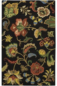 Chintz Area Rug - Wool Rugs - Area Rugs - Rugs | HomeDecorators.com
